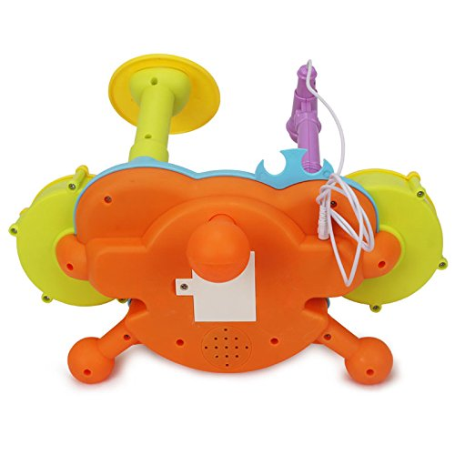 Drum Toy For 1 Year Olds : Topwon kids todder rock band drum toy set years old