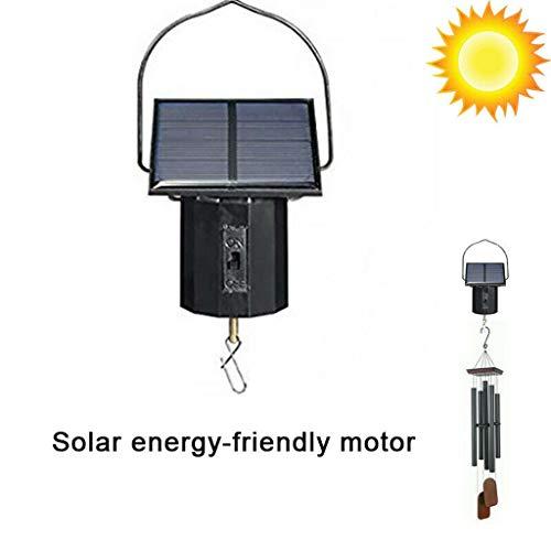 Efaster 1/2 Pcs Solar Spinner Motor,Solar Powered Wind Spinner Motor Hanging Ornament,Metal Rotator Motor Solar Powered Wind Spinner Hanging Metal Electric Tool (2 Pcs)