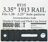 """Accu-Shot 3.35"""" 1913 Rail (BT15)"""