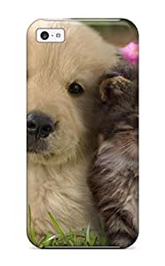 Excellent Design Cat And Dog Case Cover For ipod touch5