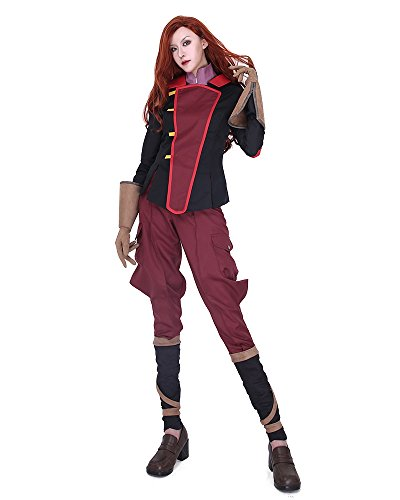 Korra Halloween Costume (Miccostumes Women's Asami Sato Cosplay Costume Outfits)
