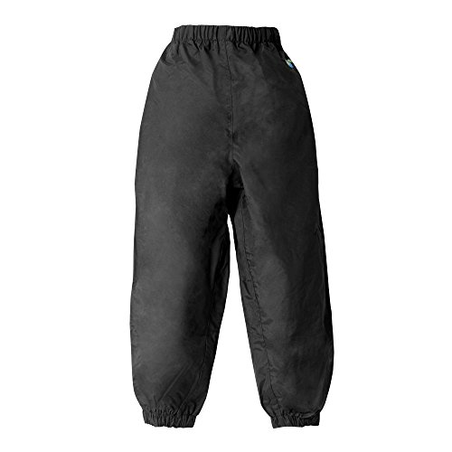 Splashy Nylon Children S Rain Pants 11 12 Black