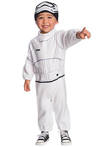 Rubie's Costume Boys Star Wars VII: The Force Awakens Stormtrooper Costume, Multicolor, 2T ()