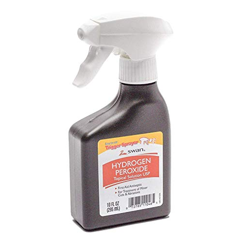 Swan 10 Ounce (295 Mililiter) Hydrogen Peroxide Trigger Sprayer First Aid Antiseptic - 1 Unit ()