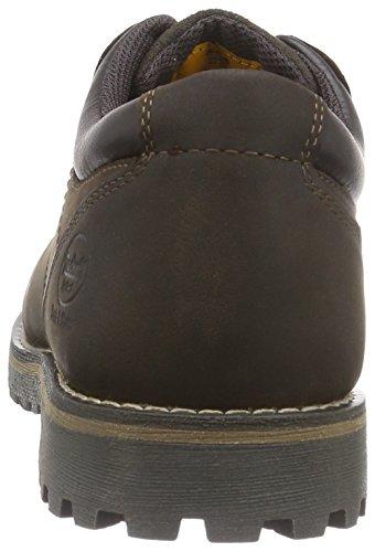 Dockers by Gerli 35MA002 - zapatos con cordones de cuero hombre marrón - Braun (schoko 360)