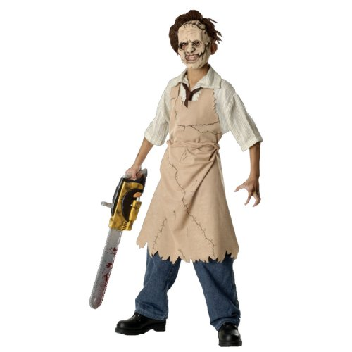 [Leatherface Costume - Large] (Texas Chainsaw Massacre Leatherface Apron Child Costume)