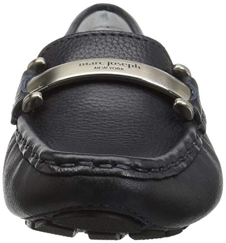 Marc York New Style Leather Driving Grainy West Village Joseph Navy Women's Loafer rE4rq