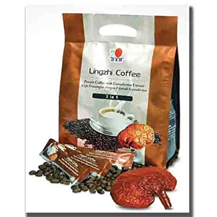 Buy DXN Lingzhi 3 In 1 Ganoderma   Brazilian Coffee Powder - 25 X 20 Gms  Online at Low Prices in India - Amazon.in 6add36afe4