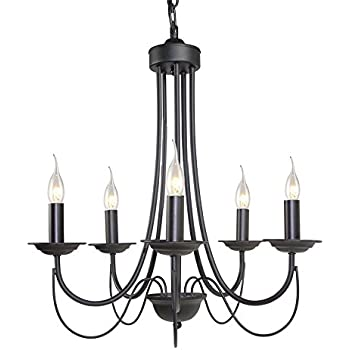 Laluz small chandeliers 5 light chandelier lighting black ceiling laluz small chandeliers 5 light chandelier lighting black ceiling lights aloadofball Images