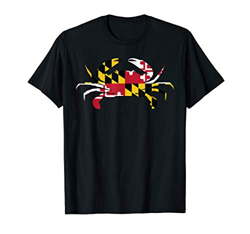 (Maryland Crab State Pride Flag T-Shirt)