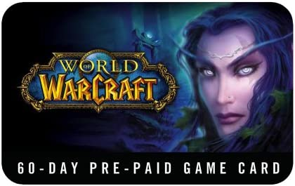 Amazon com: World of Warcraft 60 Day Pre-Paid Time Card - PC