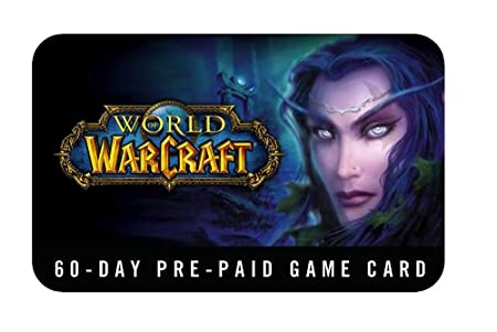 Activision World of Warcraft: 60-Day Pre-Paid Game Card - Smart ...