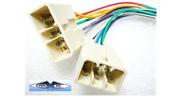 amazon com: stereo wire harness mitsubishi sigma 89 90 91 (car radio wiring  installation: car electronics
