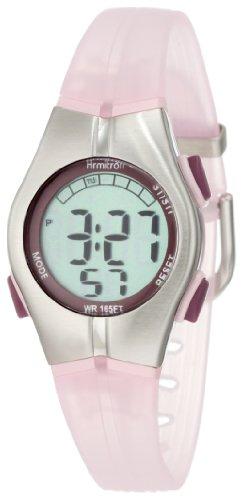 Armitron Sport Women's 456963PNK Chronograph Pink Resin Strap Digital Display
