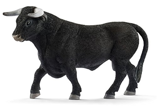 - Schleich Black Bull Toy Figurine