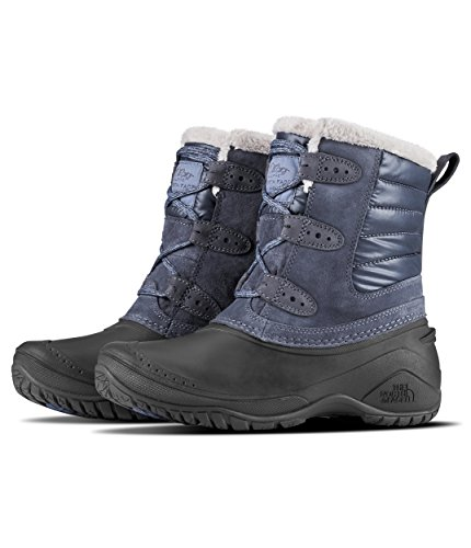 The North Face Shellista II Shorty Boot - Women's Grisaille Grey/Weathered Black, -