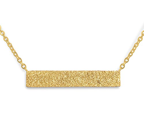 Altitude Boutique Inspired Druzy Necklace Stardust Bar Necklace (Gold) from Altitude Boutique