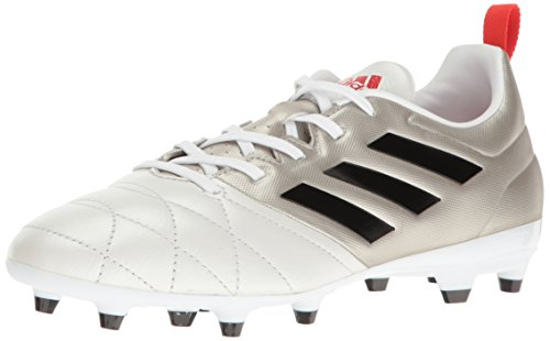 - adidas Women's ace 17.3 fg w Soccer Shoe, Platino Black/Core Red S, 8 M US