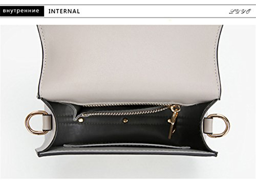 Casual Kaoling Small Crossbody Small Bag Cloe 22x8x16cm For Girls Women White Bag Gray Messenger prpFqwZn