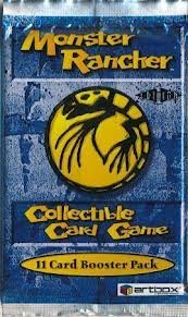 monster rancher trading card game - 1
