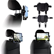 Navitech portable DVD player / Netbooks / Notebooks / Tablet pc & Laptop in Car Headrest / Back Seat Black Expandable Firm Grip Mount Cradle For The Compaq Mini 702, 702E, MSI WIND U1, Lenovo ideapad S10 & S10e, Fujitsu Siemens' Amilo Mini, Dell Latitu