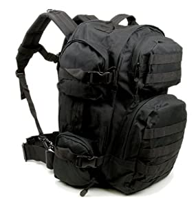 Amazon.com : Explorer Bag George Bag Black : Bug Out Bag : Sports ...