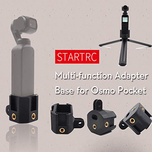 Sodoop Transfer Base Connecting Seat for DJI Osmo Pocket,New Multi-Function Expansion Adapter, UAV Accessories, - Video Multifunction