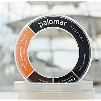 Image of 100% FLUOROCARBON LEADER TOURNAMENT Fishing Line | 110 & 55 YARD SPOOLS | 25lb-200lb Test | $22-$210 | Under 30 CENTS/YARD | Lowest Stretch & THINNEST Diam in Industry | UVA/UVB & Abrasion Resistant Fluorocarbon Line
