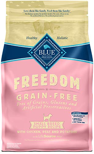 Blue Buffalo Freedom Grain Free Natural Puppy Small Breed Dr