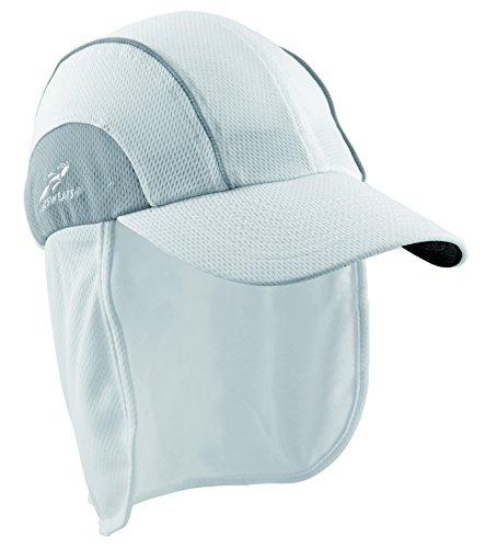 (Headsweats Protech Hat, White/Grey)