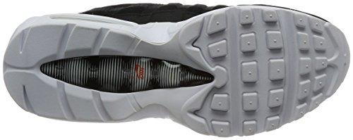Nike Herren Air Max 95 Premium Se Gymnastikschuhe Schwarz (Black/black/white/team Orange)