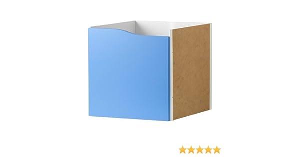 IKEA KALLAX estantería con puerta sin mango azul; (33 x 33 cm); Compatible EXPEDIT: Amazon.es: Hogar
