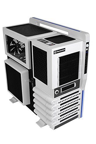 Thermaltake LEVEL 10 GT Super Gaming Modular Full Tower Computer Case - VN10006W2N Snow Edition by Thermaltake