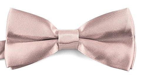 Moda Di Raza - Men's Banded BowTie Formal Tuxedo PreTied Bow Ties - Bow Ties for Men Boys Adults - Tuxedo & Wedding Mens Fashion - Gift Box - Light - Banded Box