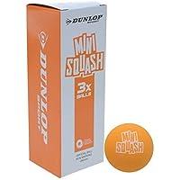 Dunlop Youth Squash - Pelotas de entrenamiento (3 unidades)