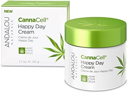 Andalou Naturals CannaCell Happy Day Cream, 1.7 Ounces