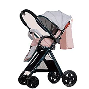 YLET Cochecito de bebé Cochecito Plegable Ligero Buggy de Viaje ...
