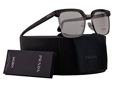 Prada Journal PR15SV Eyeglasses 54-18-145 Havana w/Demo Clear Lens HAQ1O1 VPR15S VPR 15S PR 15SV