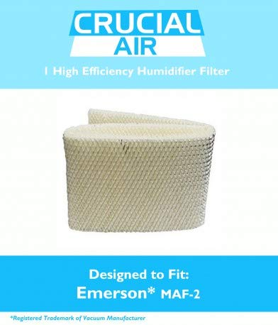 Kenmore EF2 & Emerson MAF2 Humidifier Wick Filter, Designed & Engineered by Crucial Air 700953607713