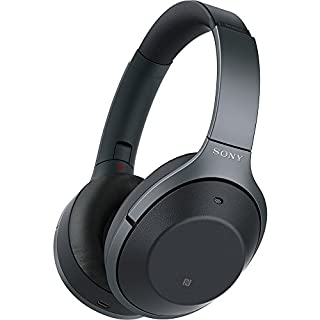 Sony Noise Cancelling Headphones WH1000XM2: Over Ear Wireless Bluetooth Headphones with Microphone - Hi Res Audio and Active Sound Cancellation - Black (2017 model) (B074KDJVS2) | Amazon price tracker / tracking, Amazon price history charts, Amazon price watches, Amazon price drop alerts