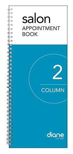 Column Appointment Book (Diane 2-Column Salon Appointment Book (DEO001))