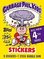 Wax Booster (Topps Garbage Pail Kids Trading Cards Series 4 Wax Booster Pack)