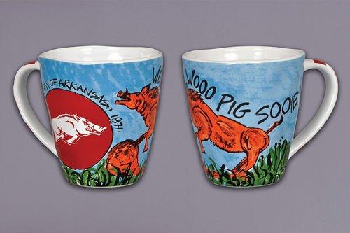 Collegiate Spirit Mug (Arkansas Razorbacks)