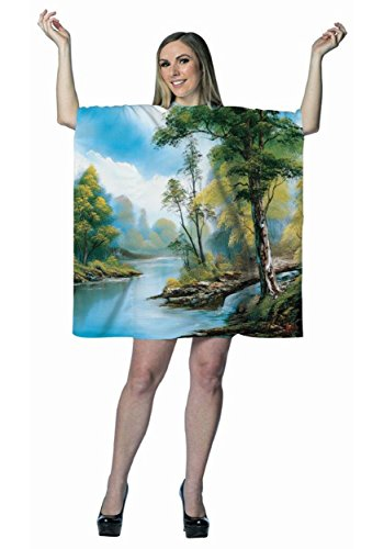 Morris Costumes Bob Ross Painting Dress]()