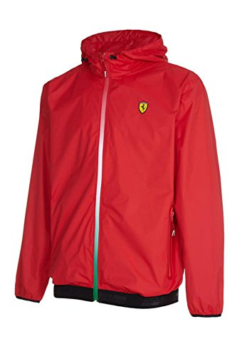 Scuderia Ferrari Men's 2017 Formula 1 Red 100% Polyester Windbreaker F1 - Jacket Men Ferrari