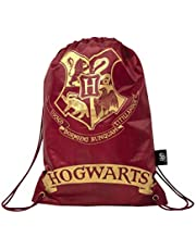 Harry Potter Trekkoord Sporttas Zweinstein Logo 23x17 cm - Bordeaux SLHP295