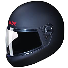 Studds JADE Full Face Helmet (Matt Black, L)
