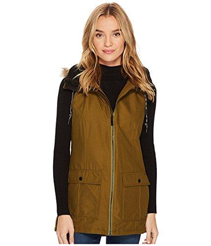 件名給料財政(ボルコム) VOLCOM レディースコート?ジャケット?アウター Longhorn Insulated Vest Moss XL XL [並行輸入品]