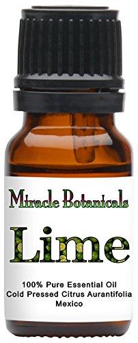 Miracle Botanicals Lime Essential Oil - 100% Pure Citrus Aur