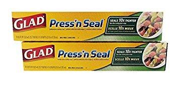 (Glad Press 'n Seal Wrap (2-Pack, 70 sq. ft. each - Total 140 sq. ft.))